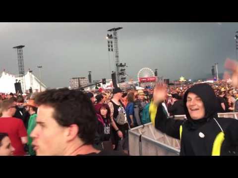 Unwetter und Konzertabbruch bei Rock am Ring 2016