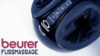 BEURER FM 90 Fußmassagegerät   SHiATSU Massage (u.m.) für Füße bis GR. 46   TEST   UNBOXiNG