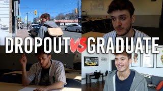 College Dropout vs. College Graduate