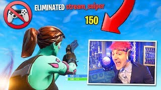 THIS is why Ninja wanted Aim-Assist REMOVED!