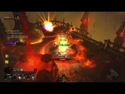 Diablo 3 Monk LoN LTK+EP Test 75 low gem up - смотреть