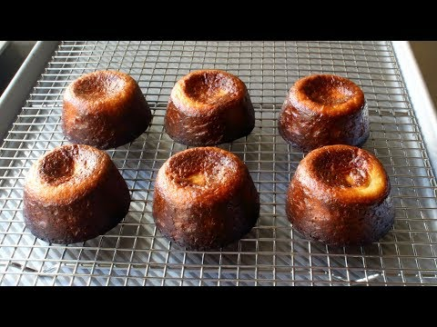 Canelé de Bordeaux – Crispy Baked French Custard Cakes – How to Make Canelés