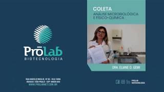 Coleta - Análise Microbiológica e Fisíco-Química