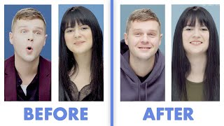 Interviewed Before and After Our First Date - Nick & Daniela | Glamour