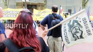 Germany: Far-right group gathers for annual protest against ban