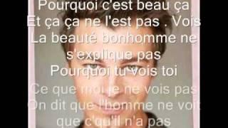 Christophe Maé - Pourquoi c'est beau ça avec les parole !!!