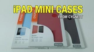 Cygnett Vector FlexiGel & Enigma IPad Mini Cases