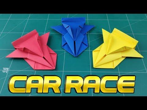 How To Make Easy Car Paper Model Origami Car Way Diy Paper