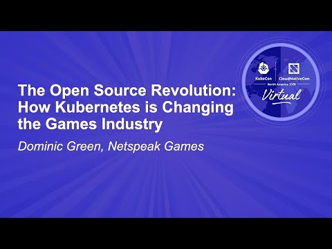 Image thumbnail for talk The Open Source Revolution: How Kubernetes is Changing the Games Industry