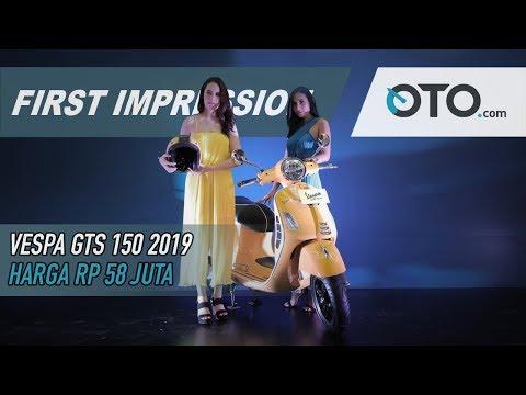 Vespa GTS Super 150 2019 | First Impression | Apa Saja Perbedaanya? | OTO.com