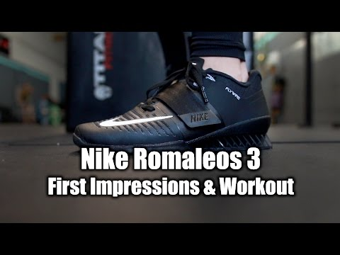Nike Romaleos 3 Info - First Impressions & Workout!