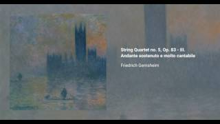 String Quartet no. 5, Op. 83,