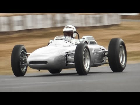 1962 Porsche 804 F1 Car: 1.5-Litre Flat-8 Engine Sound