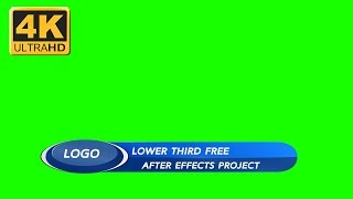 【Lower Third 4K】Video backgrounds Green Screen 4K  - Footage CGI VisualFX | Part 160