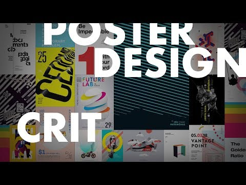 🔴 Learn Typography Through This Poster Design Critique 2018