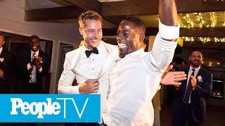 Inside Mandy Moore & 'This is Us' Stars' Wild Night Out At Justin Hartley's Wedding | PeopleTV