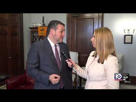 Sen. Cruz Discusses President Bush's Legacy with KWTX's Alana Austin