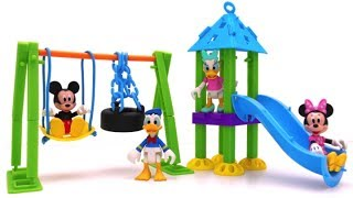 Playground Building Set for Mickey Mouse & Friends   Slide & Swing Fun for Kids