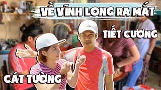 MC Cát Tường đưa Tiết Cương về RA MẮT BA MẸ tại Vĩnh Long | MC-Diễn Viên Nguyễn Trí Cát Tường