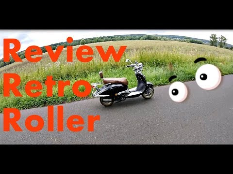 Review ZNEN Retro Roller 125 ccm - MotoVlog #48