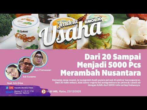 Jendela Usaha - Dari 20 Sampai Menjadi 5000 Pcs Merambah Nusantara