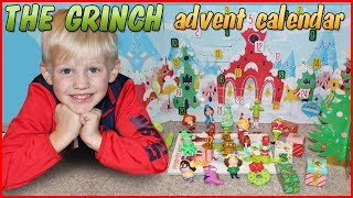 Michael's Very First Advent Calendar - The Grinch!!
