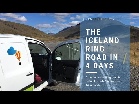 The Iceland Ring Road in 4 Days - CamperStories