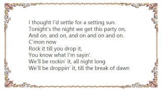 Fefe Dobson - Rock It Till You Drop It Lyrics