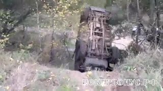 Подборка переворотов внедорожников off road ЧАСТЬ 3 НИВА УАЗ NIVA
