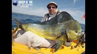 Лучшая рыбалка в Атлантическом океане! Где найти Махи? Маленькая лодка, большая рыба!