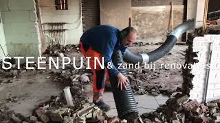 Suction Excavator - Onze nieuwe Business Unit draait op volle (zuig)kracht Onze krachtige zuigwagen verwijdert dakgrind in een mum van tijd