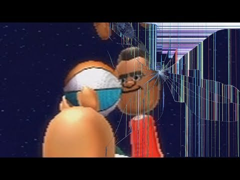 trying to beat tommy at wii sports resort basketball goes wrong