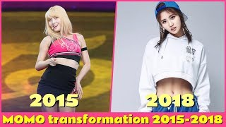TWICE MOMO Transformation 2015 2018 [kpop Diet Transformation]