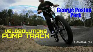 Pump Track session with the locals at George Poston Park.