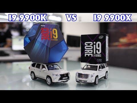 Test render i9 9900k vs i9 9900x
