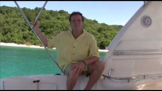 preview picture of video 'Chillaxin' on a Power Yacht in the Virgin Islands'