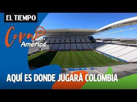 Un recorrido por el Arena Corinthians, Estadio donde Colombia enfrentará a Chile