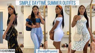 Fashion Nova Haul | + Simple Daytime Summer Looks | LovelyBryana