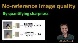 124 - Image quality by estimating sharpness