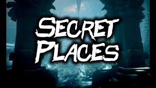 SECRET PLACES // SEA OF THIEVES - Unmarked islands and locations #SeaOfThieves