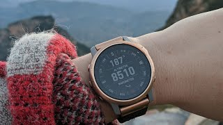 Garmin Fenix 6S Pro Smartwatch Review // Becky Stern