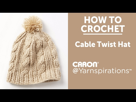 Caron Cable Twist Hat  38383558cf7