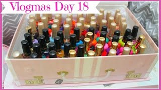 Vlogmas Day 18: Requested Milani Nail Polish Collection!