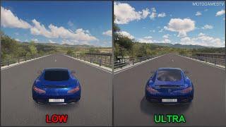 Forza Horizon 3 [PC] - Low vs Ultra - Graphics Comparison