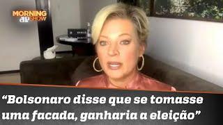 Joice Hasselmann faz teoria da conspiração sobre facada em Bolsonaro