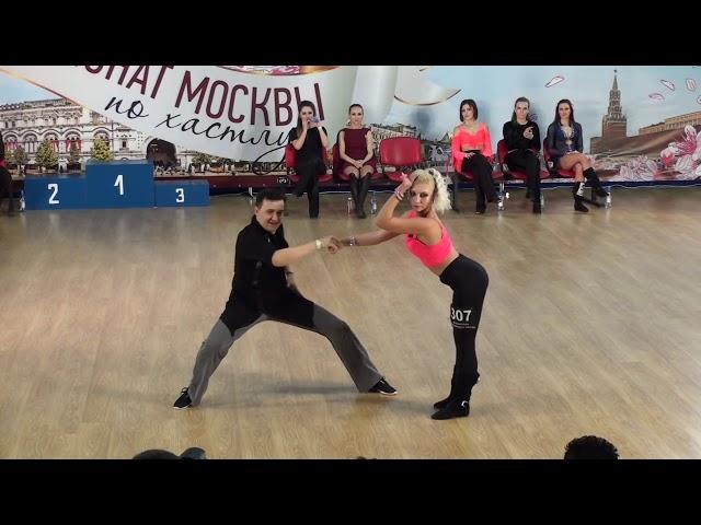 Екатерина Новикова в паре с Виталием Ермаковым