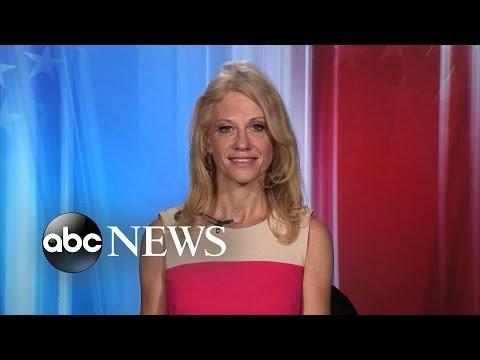 Kellyanne Conway Interview on Clinton Aides Clash