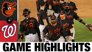 Orioles Beat Defending Champs Nationals, 11-0! | Orioles-Nationals Game Highlights 8/7/20