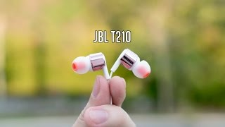 JBL T210 Review | In-Ear Headphones