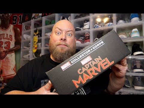 March 2019 Captain Marvel Collector Corps Mystery | Youtube Search